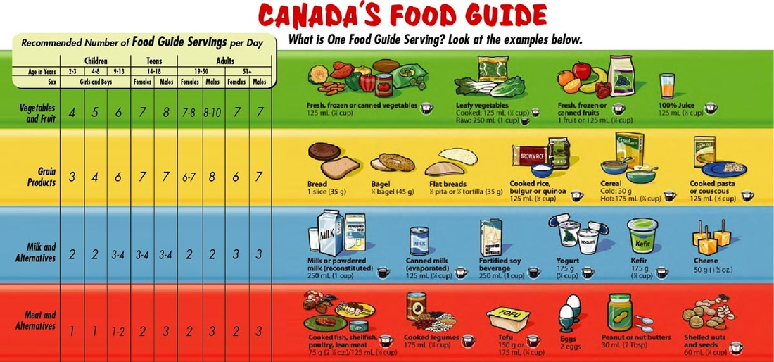 Canada S Food Guide Meat